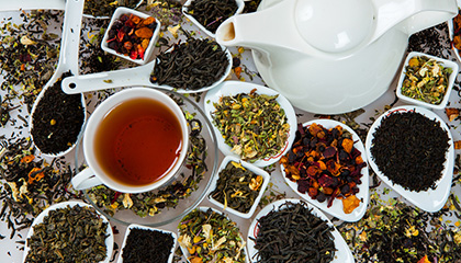 Tea by type graphic